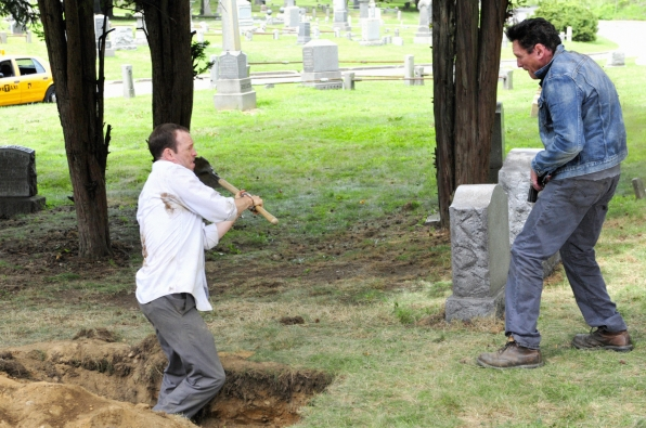 Digging a Grave