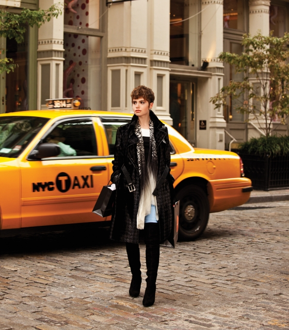 Sami Gayle in New York City