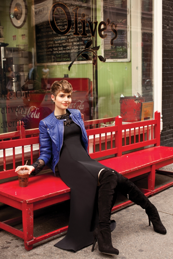 Sami Gayle Takes a Fashionable Coffee Break