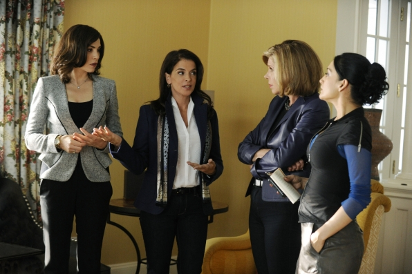 Alicia, Lesli, Diane and Kalinda