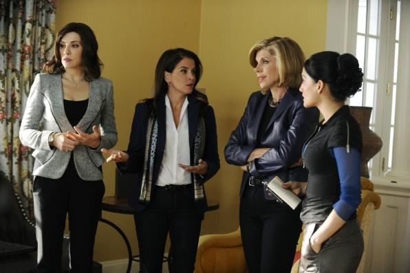 Alicia, Lesli, Diane and Kalinda Assess the Situation