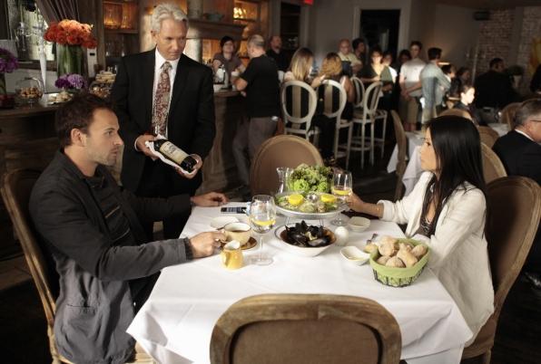 Sherlock and Watson Dine Together