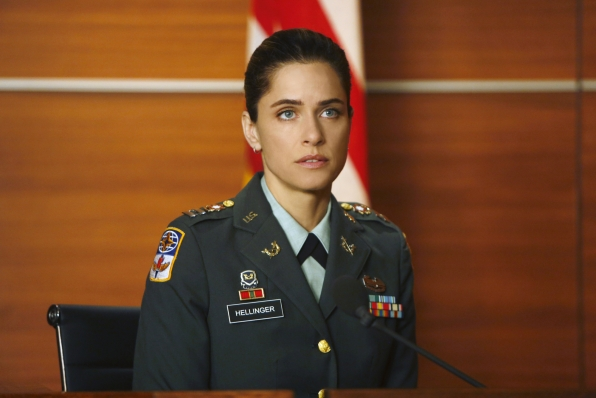 Army Captain Laura Hellinger
