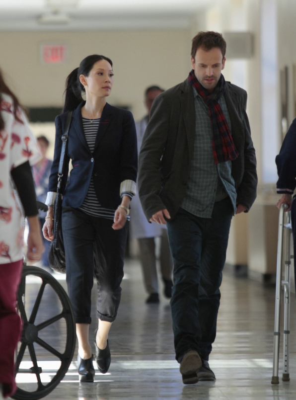 Sherlock and Joan at the Hospital