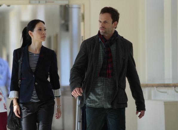 Joan and Sherlock at the Hospital