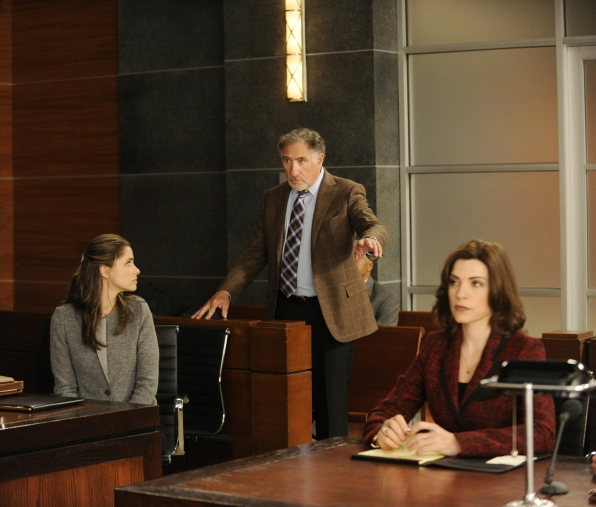 Laura, Judge Creary and Alicia