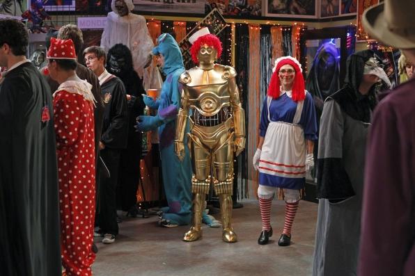 Raggedy Ann & C3PO Andy
