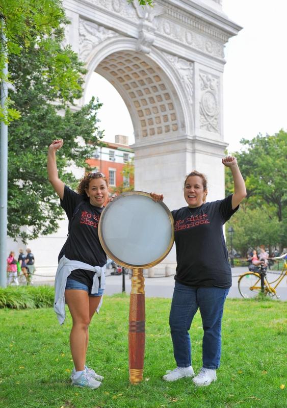Participants in Washington Square Park
