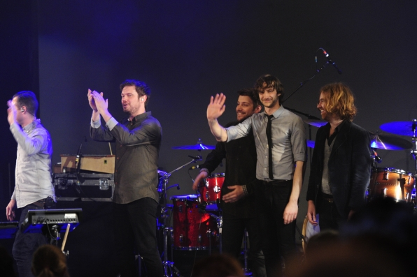 Gotye and Band Members