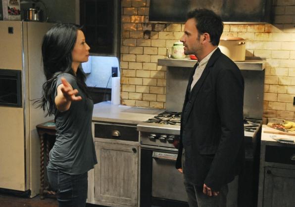 Watson and Sherlock in the Kitchen