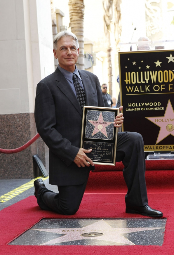 Mark Harmon on Hollywood Walk of Fame