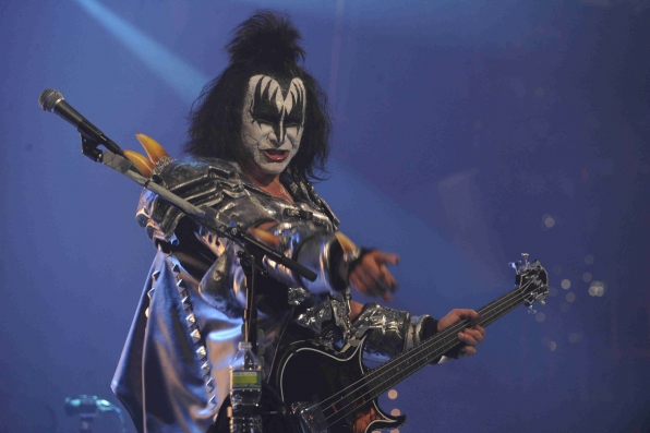 KISS Performs for an Exclusive Webcast