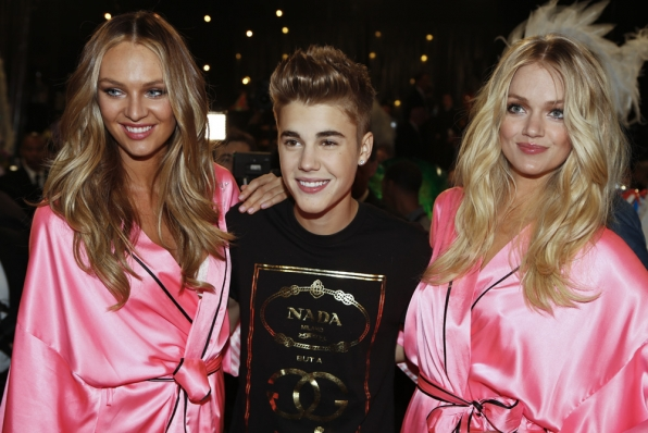 Justin Bieber and the Angels