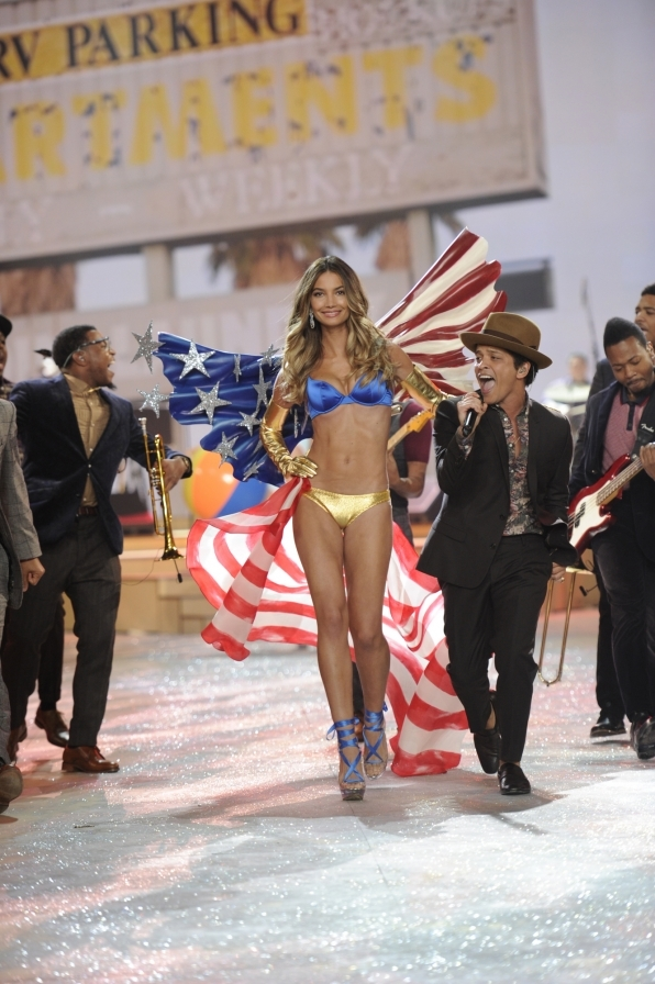 July 4th - Lily Aldridge - 2012 Highlights