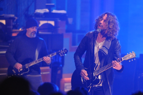 Soundgarden Performs