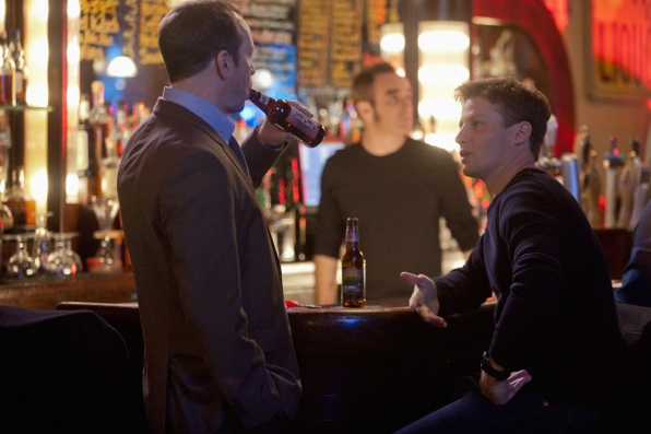 Danny and Jamie at the Bar