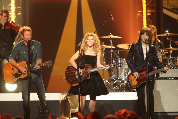Dierks Bentley Performs with The Band Perry