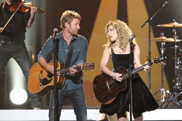 Dierks Bentley and Kimberly Perry