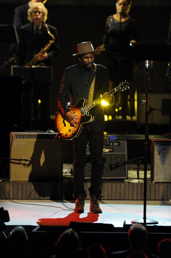 Gary Clark, Jr. Performs