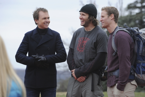 """On the mat in the season finale of The Amazing Race """"Beacon of Hope"""""""