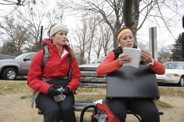 "Searching among spies in the season finale of The Amazing Race ""Beacon of Hope"""