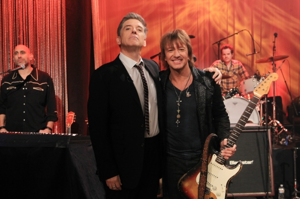 Richie Sambora and Craig Ferguson