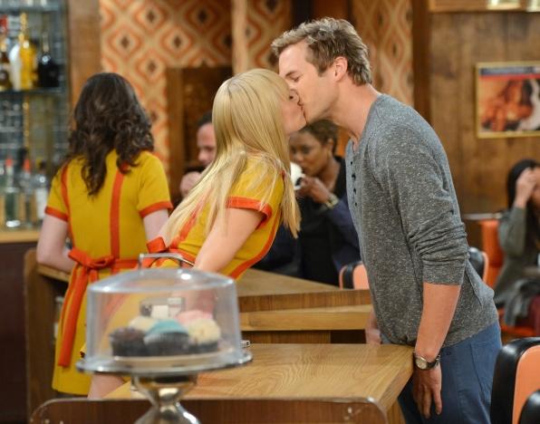 A kiss for Caroline