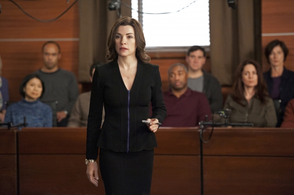 Alicia Goes Up Against Will and Diane in a Mock Trial