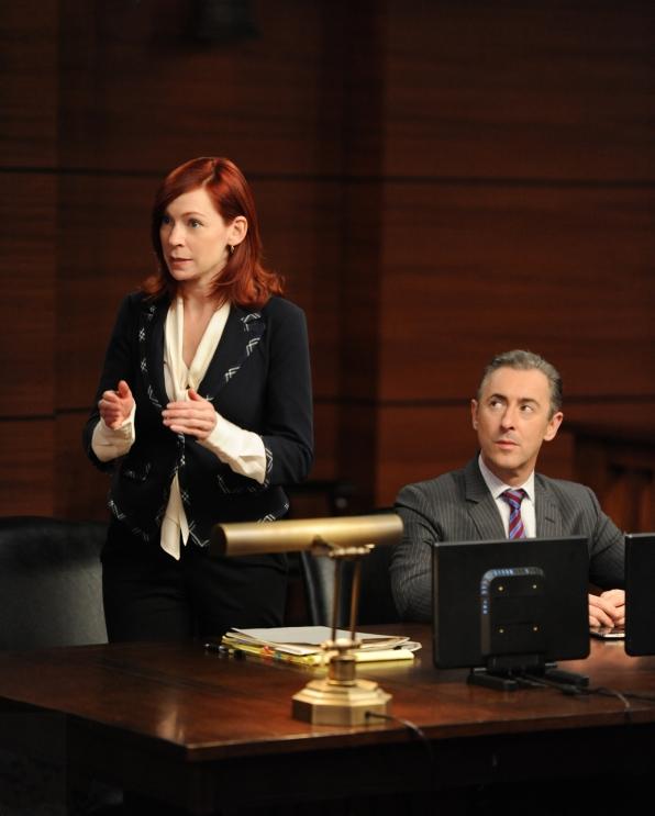 Elsbeth helps Eli defend himself