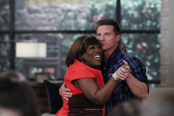 Dancing with Steve Burton