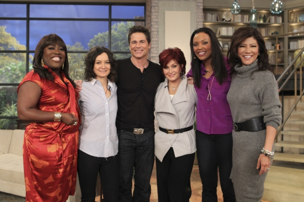 Rob on The Talk