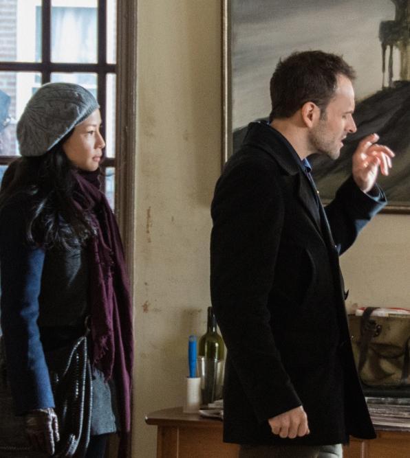 Sherlock Investigates the Scene