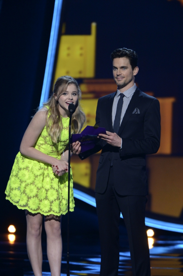 Chloë Grace Moretz and Matt Bomer
