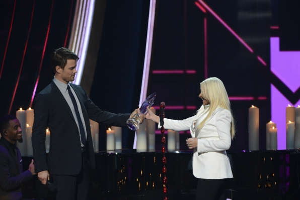 Josh Duhamel and Christina Aguilera
