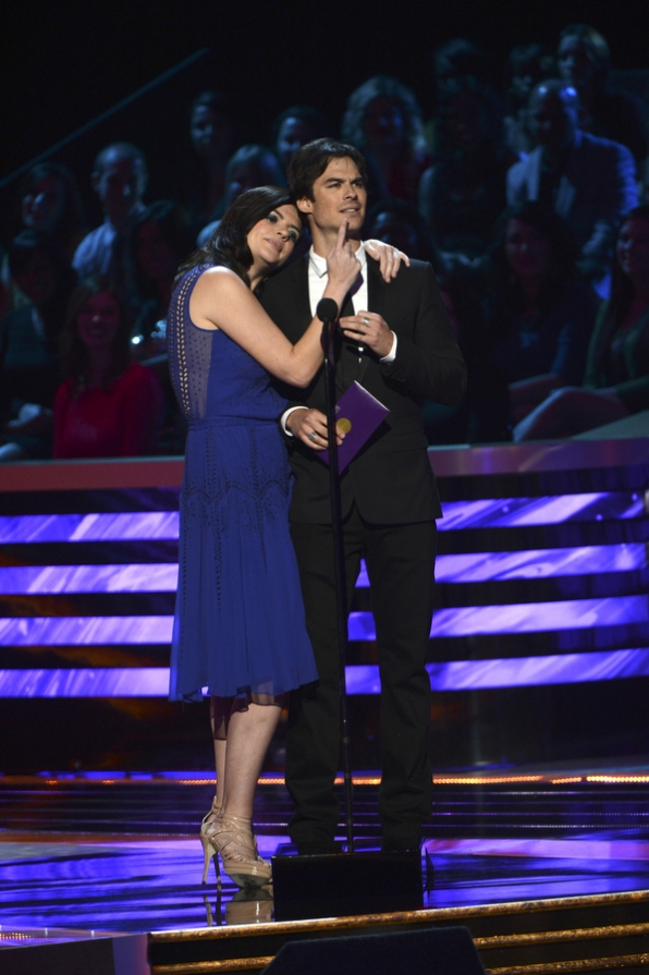 Casey Wilson and Ian Somerhalde