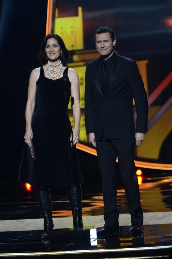 Carrie-Anne Moss and Jason O'Mara