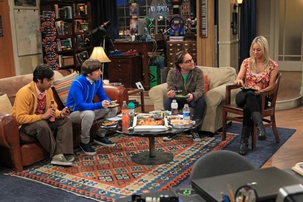 Raj, Howard, Leonard & Penny
