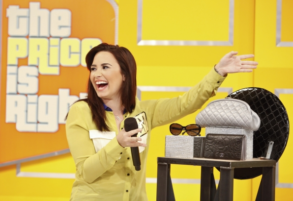 Demi Lovato !!!      The Price Is Right
