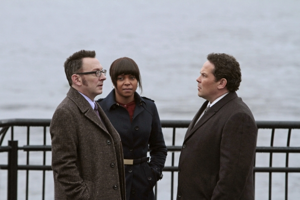 Finch, Carter and Fusco Discuss Reese's Kidnapping