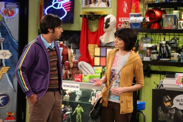 Raj meets a lady