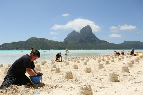 Searching sandcastles