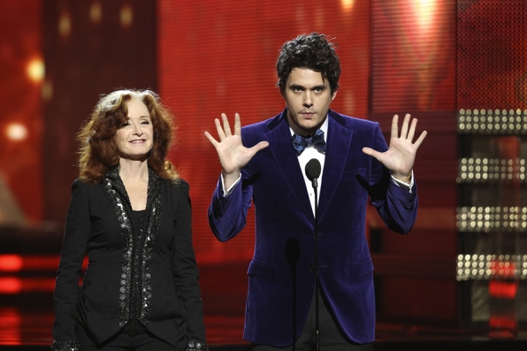 Bonnie Raitt and John Mayer