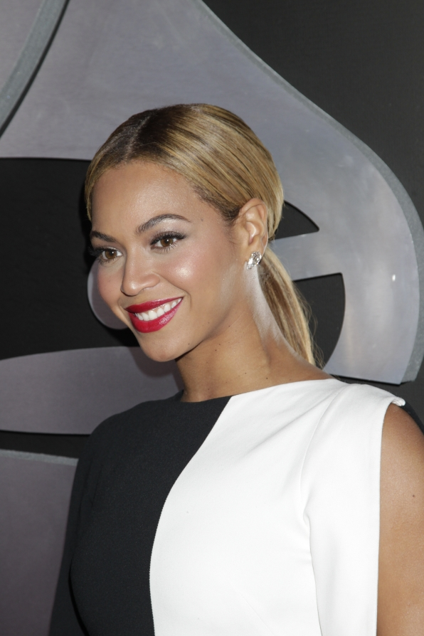 Beyonce Close Up