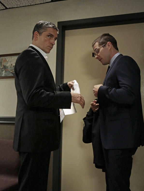 Reese and FBI Agent
