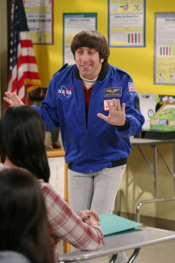"Wolowitz tries teaching in ""The Contractual Obligation Implementation"", Episode 18 of Season 6"