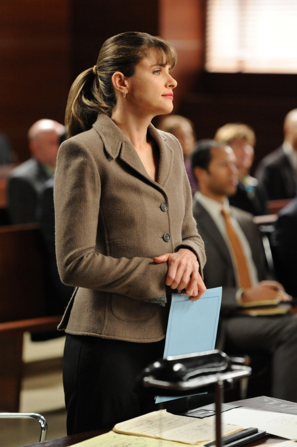 Amanda Peet guest stars as Laura Hellinger