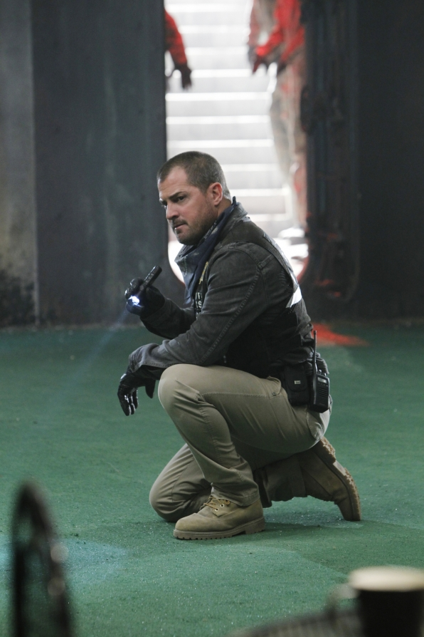 "George Eads on Season 13 Episode 18 ""Sheltered"""