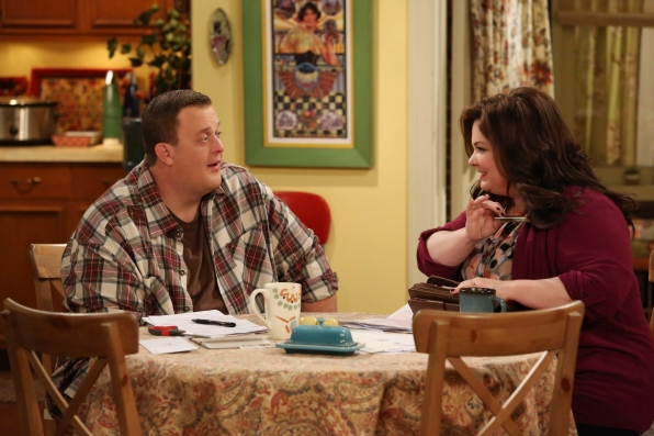 "Mike & Molly in ""Spring Break"" Episode 18 of Season 3"