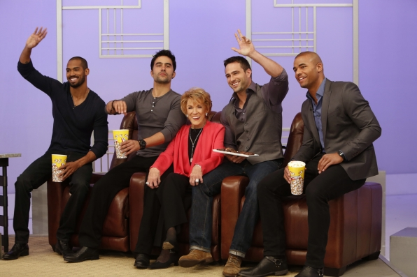 Jeanne Cooper and Y&R Men!