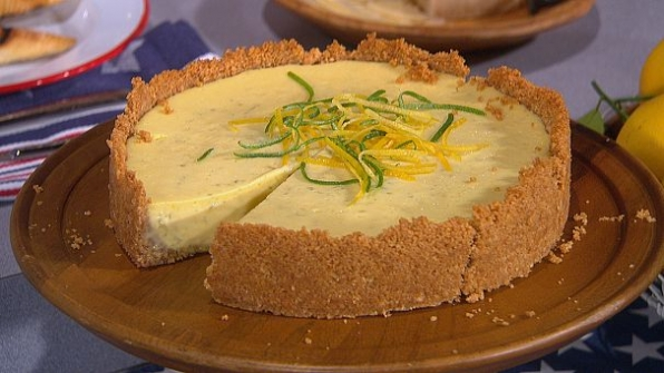 David Guas' Lemony-Limey Ice Box Pie